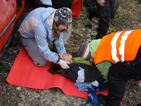 Outdoor First Aid training