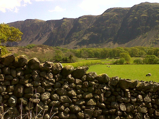 Wasdale screes