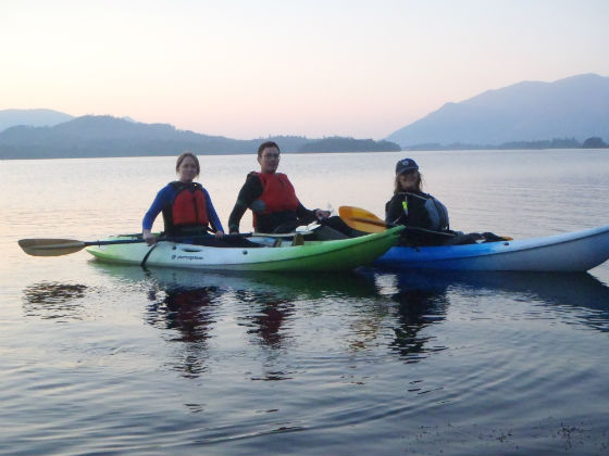evening paddle 1